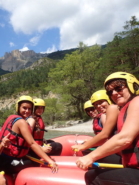 Descente des Gorges du Verdon en rafting Castellane.